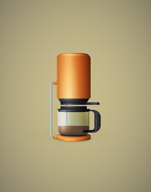 Tutorial Illustrator Cafetera