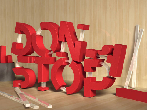 Crear texto 3D con cristales utilizando Photoshop