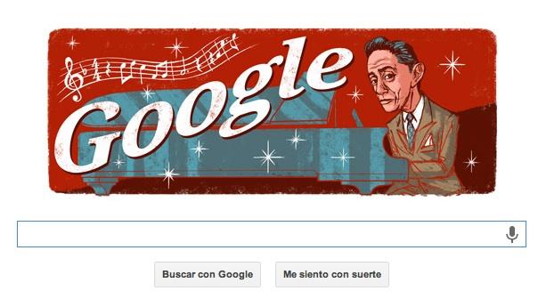 Doodle de Agustín Lara