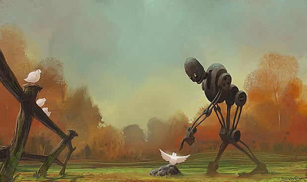 Ilustraciones digitales Szymon Biernacki 1