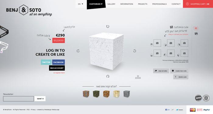 Hermosos diseños web creativos, Ben and Soto