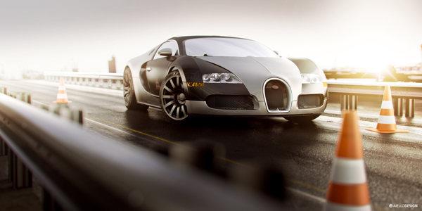 Bugatti Veyron CGI