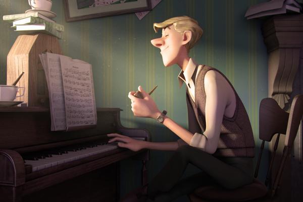 Roger y su piano
