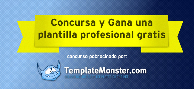 concurso template monster