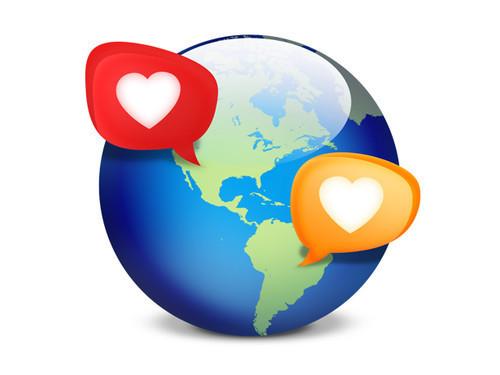 Icono PSD: Redes sociales de citas