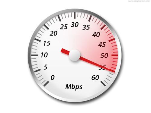 Archivos PSD para descargar, Icono PSD: Medidor de velocidad (Tacometro)