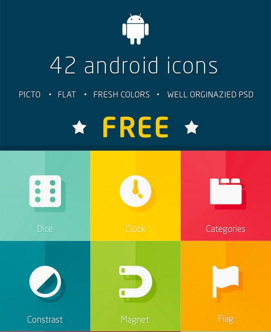 http://www.behance.net/gallery/Gmarellile-Flat-Icons-Vol40/11093625