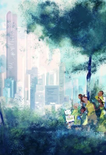 coloridas ilustraciones por Pascal Campion
