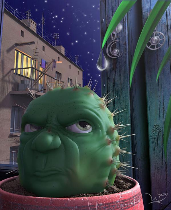 ilustraciones 3D por Nikita Veprikov