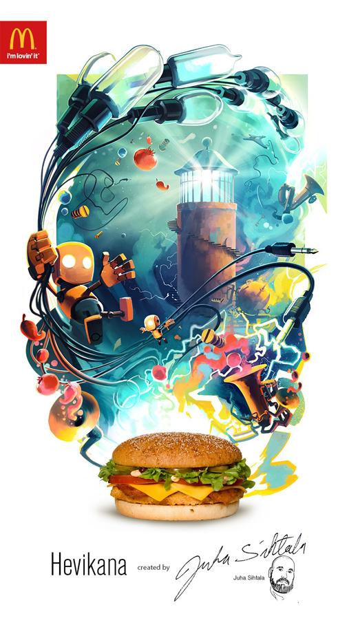 ilustraciones McDonalds 1