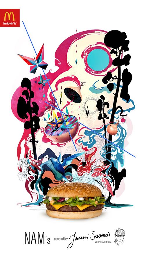 ilustraciones McDonalds 3