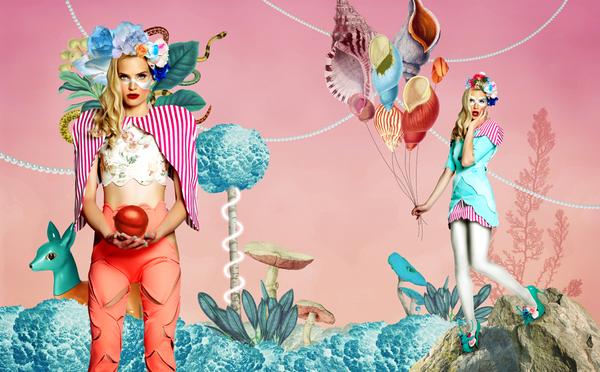 Ilustraciones para revista de moda