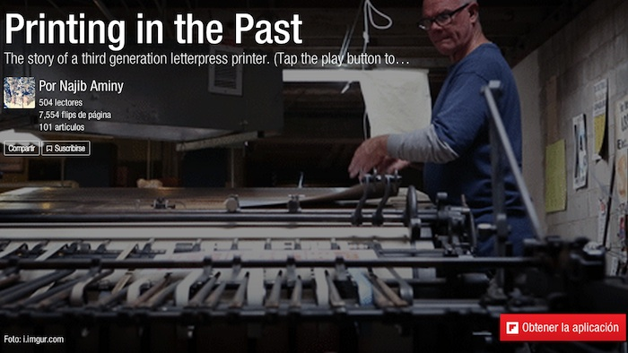 historia de la impresión Letterpress