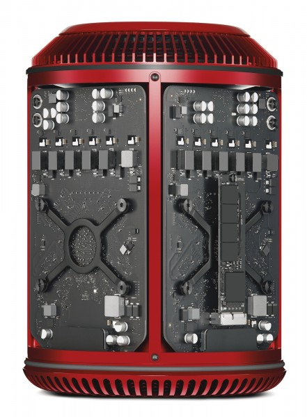 mac pro roja hardware