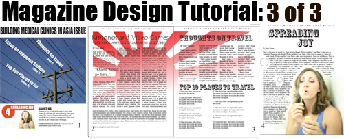 Tutoriales InDesing para diseñar revistas