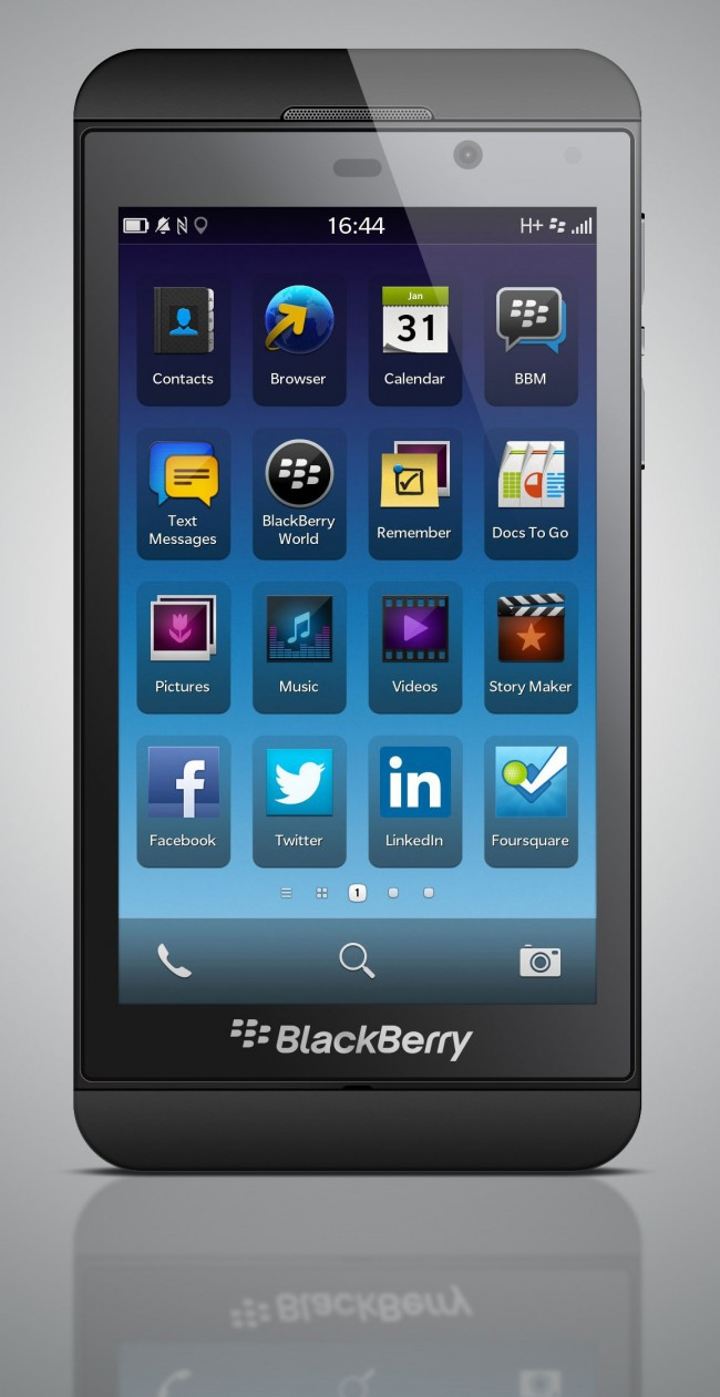 Mockup PSD Blackberry Z10