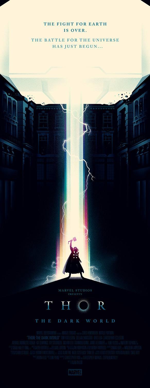 Increíble poster de Thor