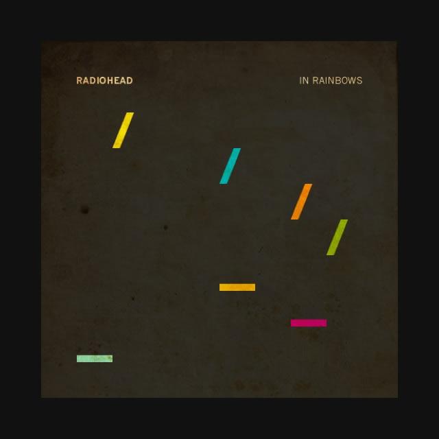 posters minimalistas de musica, radiohead