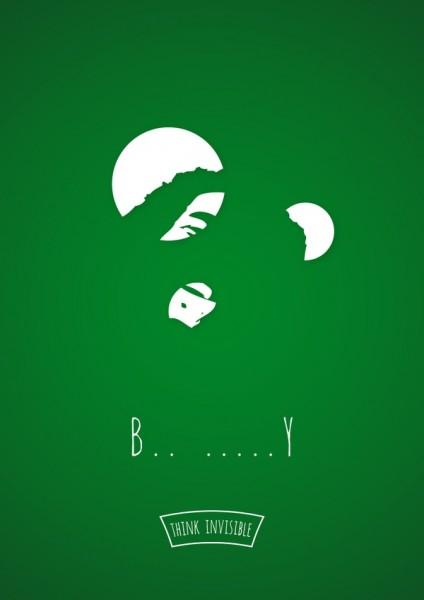 posters espacios negativos bob marley