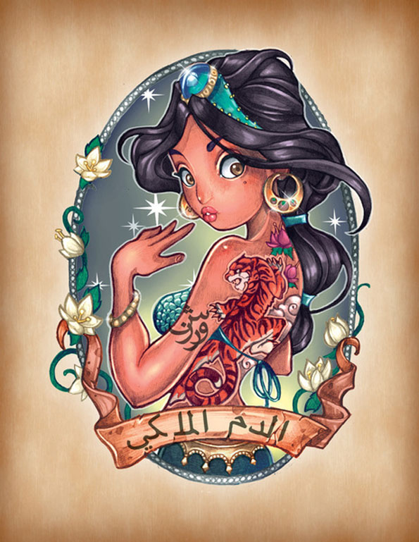 princesa de aladdin