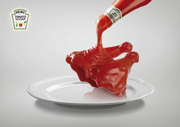 publicidad comida heinz