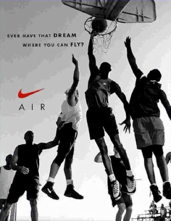 publicidad de Nike 6