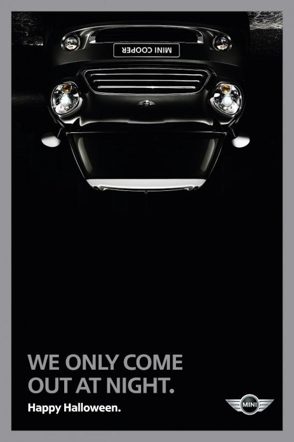 Publicidad de Mini Cooper