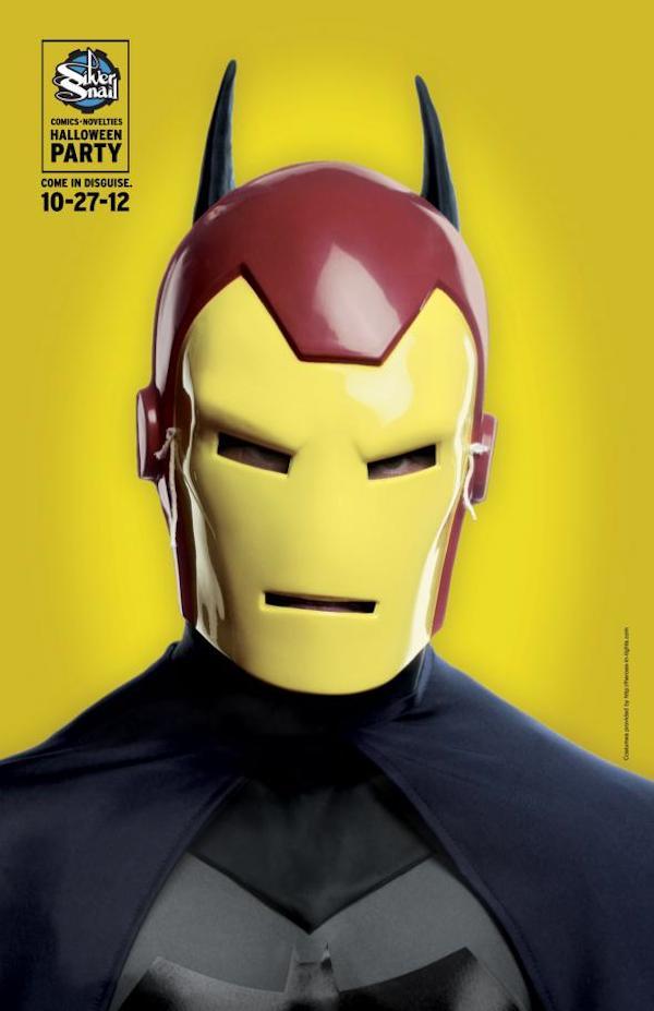Publicidad de Silver Snail - Batman - IronMan