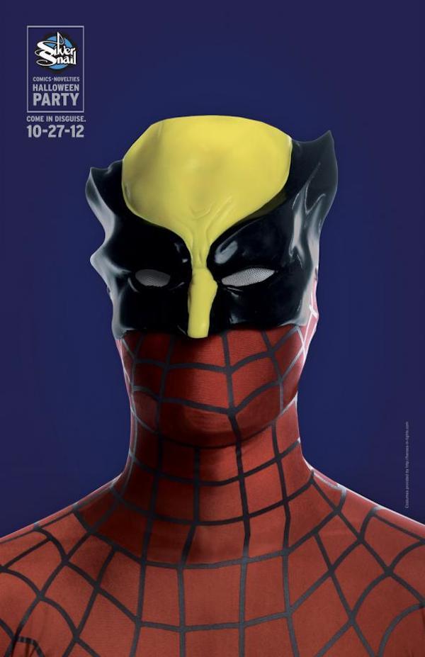 Publicidad de Silver Snail - Spiderman - Wolverine