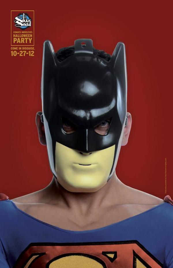 Publicidad de Silver Snail - Superman - Batman