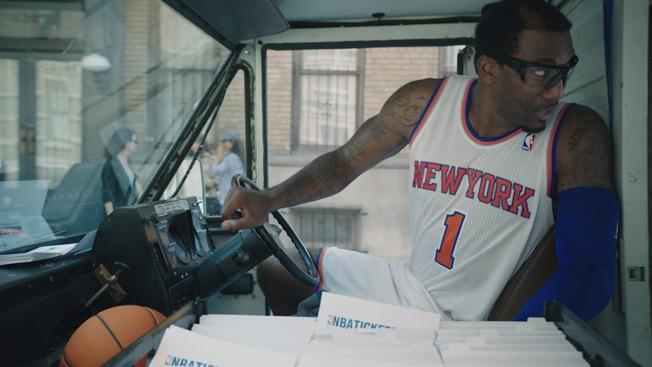 Publicidad con estrellas de la NBA
