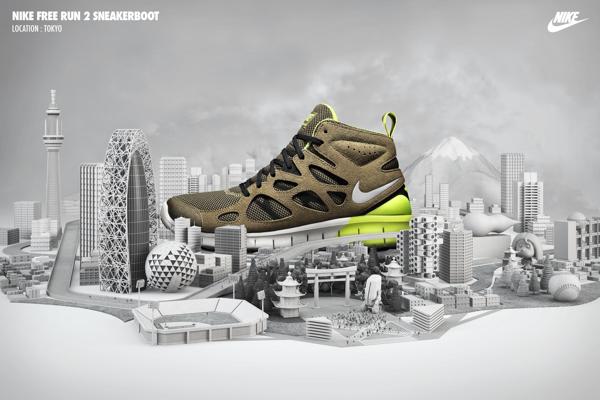 Publicidad de Tennis Nike sneakerboots 1