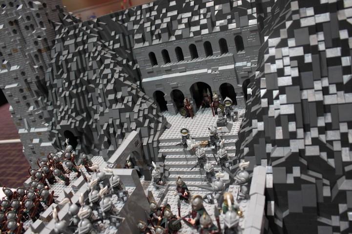 representación señor de los anillos LEGO 2