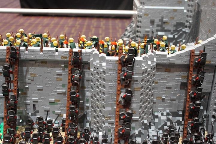 representación señor de los anillos LEGO 4
