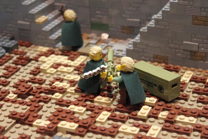representación señor de los anillos LEGO 6