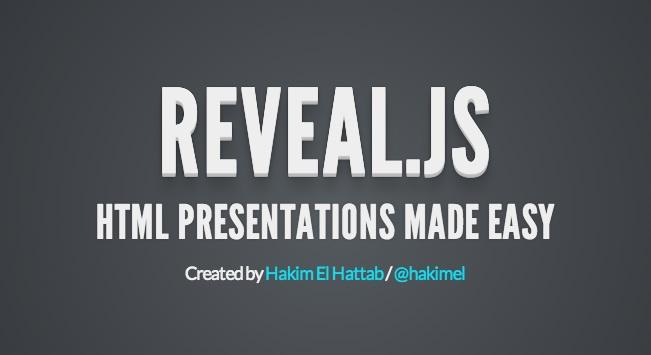 Crear presentaciones HTML5 con efectos 3D