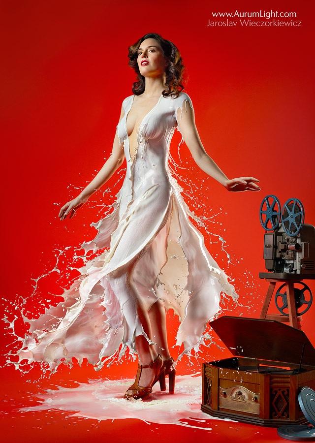 vestidos de leche 7