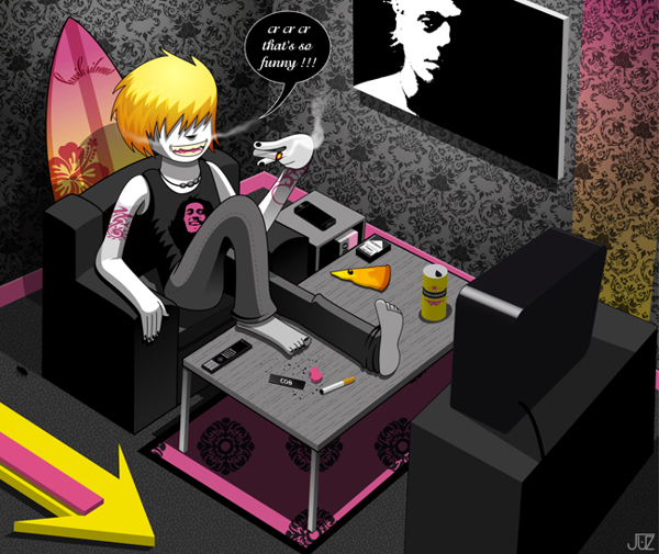 Ilustraciones punk