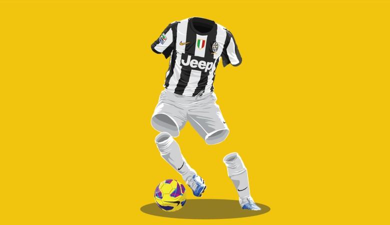 ilustraciones de fútbol, Juventus 2012/2013