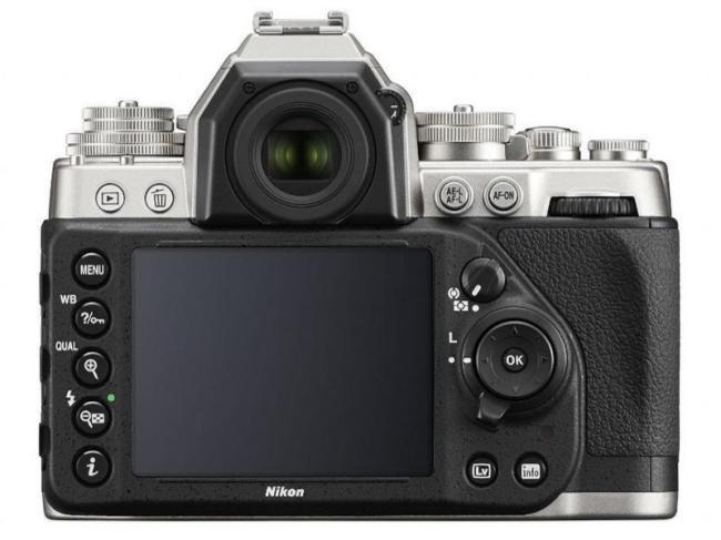 Nikon Df atras controles