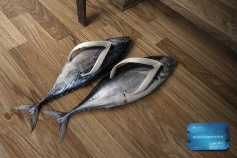 Publicidad de Smelly Feet