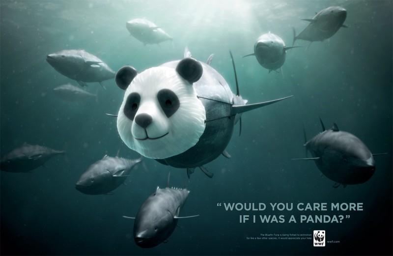 Publicidad de WWF