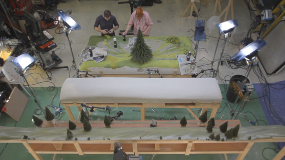 comercial john lewis making of 8