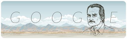 Doodles de Noviembre 11, 85 aniversario de Carlos Fuentes