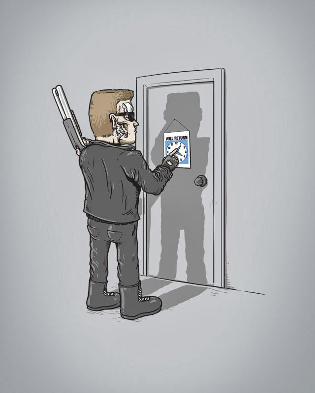 ilustraciones alex solis terminator