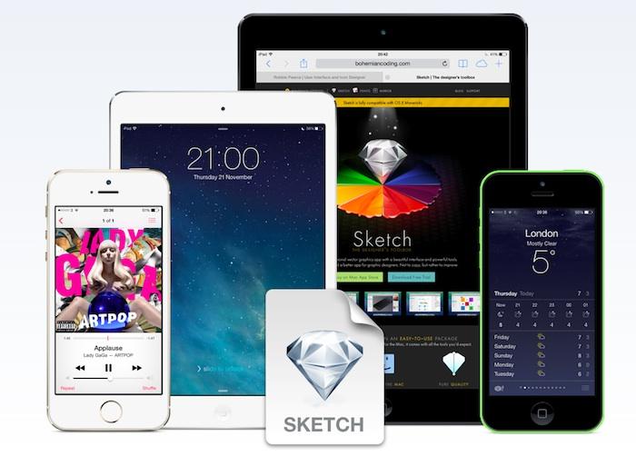 Mockups tamaño real de smartphones y tabletas