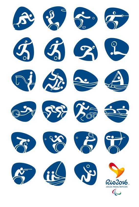 pictogramas para los Juegos olímpicos Rio 2016