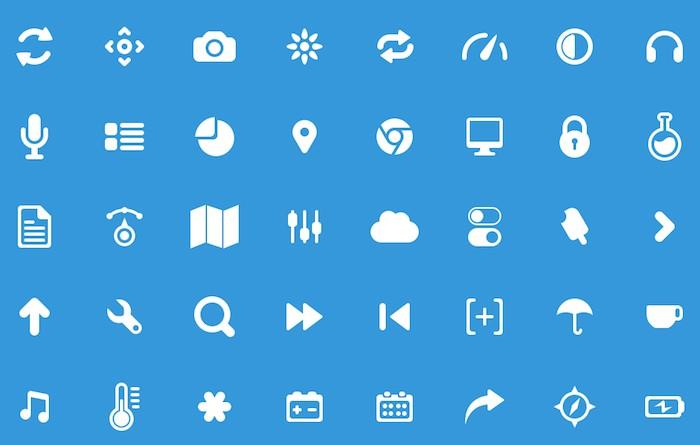 pictogramas para diseños web