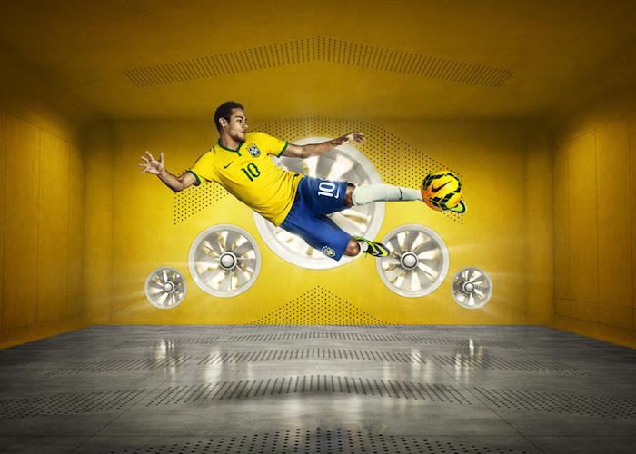 publicidad de nike jersey de brasil y francia