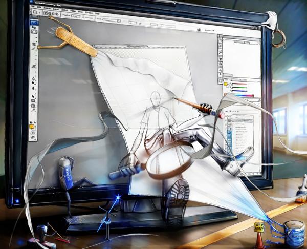 smart objects ilustración de Alex Lanier